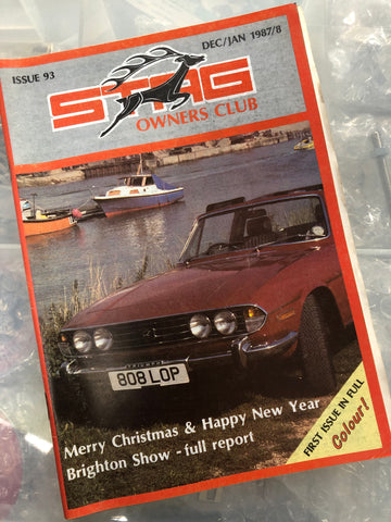 SOC Magazine - Issue 93. Dec/Jan 1987/8.
