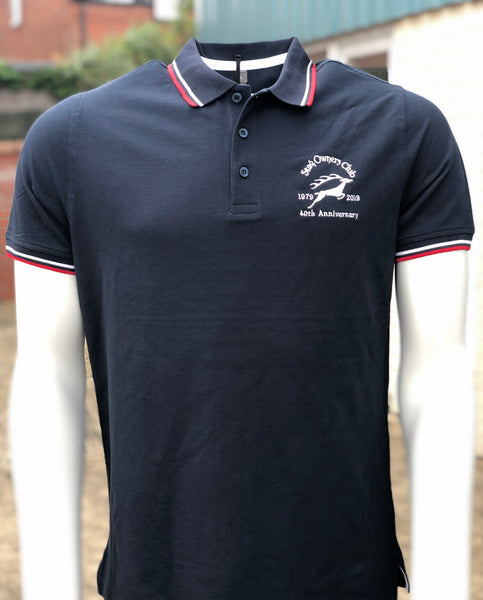 Mens SOC 40th Anniversary Polo Shirt (Limited Edition)