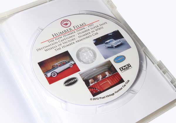 Post Vintage Humber Car Club presents ... (DVD)