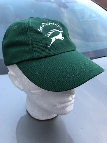 Low Profile Baseball Cap with SOC Logo - Green