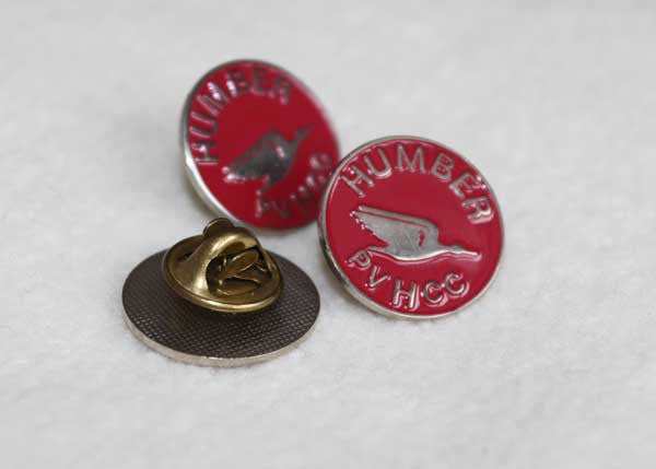 Humber Club Lapel badge