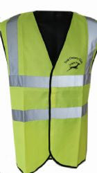 Hi Visability Vest with SOC Logo