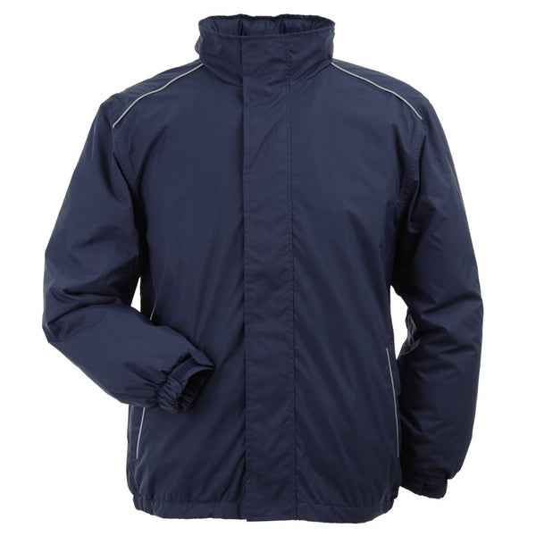 Mens Tempest Jacket with SOC Logo - Navy