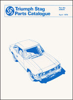 Triumph Stag Parts Catalogue