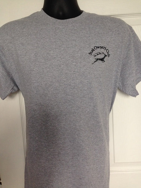 Adult T-Shirt - Sport Grey (with SOC printed logo)