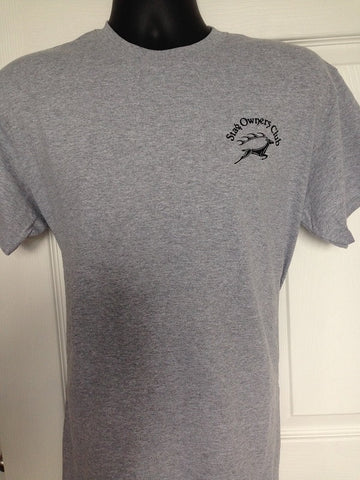 Adult T-Shirt with SOC Logo - Sport Grey (Small)
