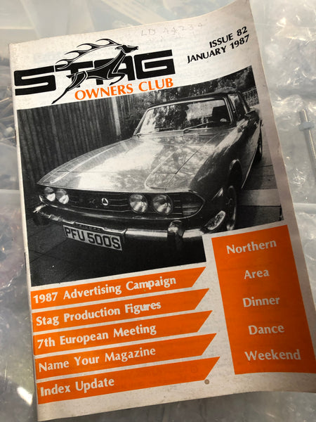 SOC Magazine - Issue 82. January 1987.