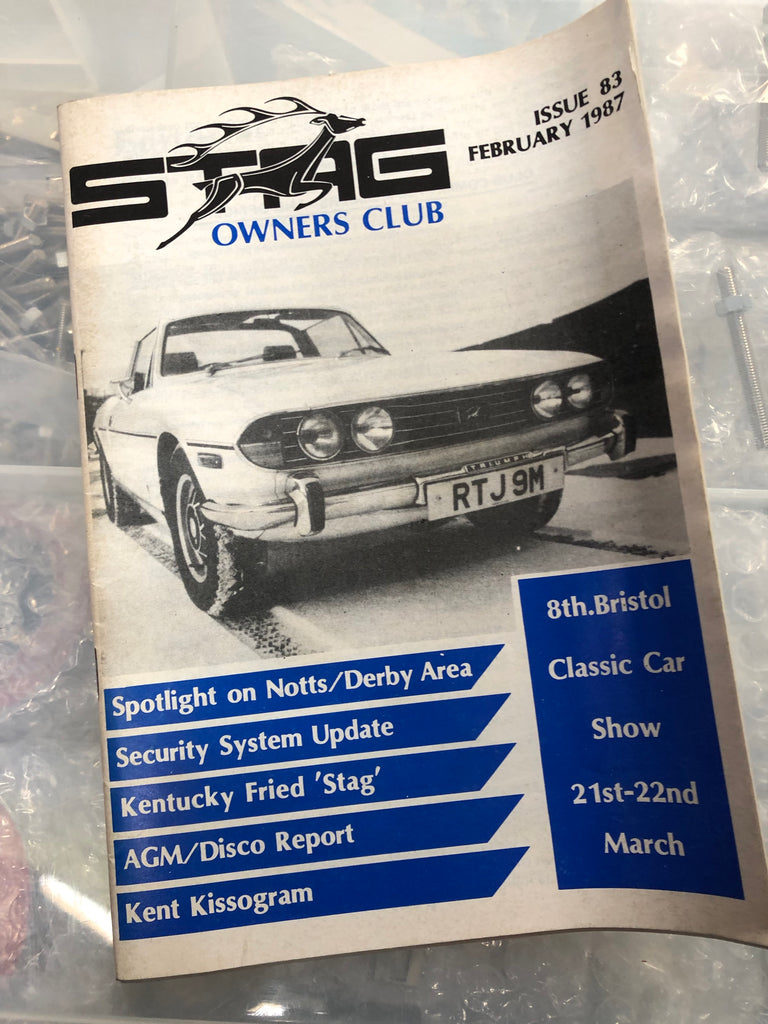 SOC Magazine - Issue 83. February 1987.