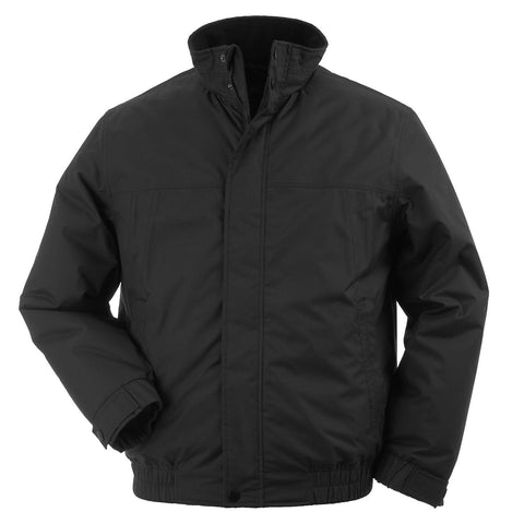 Mens Zeus Jacket with SOC Logo - Black