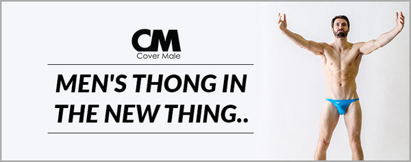 Men's thong in the new thing..