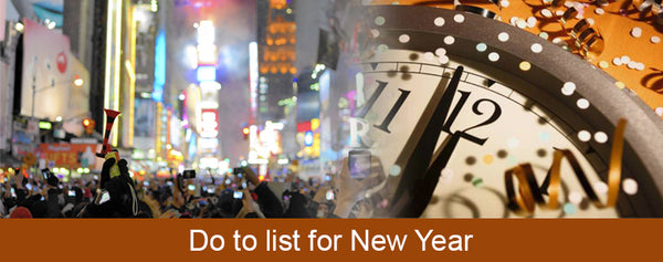 4 Fun Things to do this New Year
