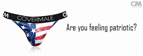 Are you feeling patriotic? - Cover Male Flag Underwear is there for you