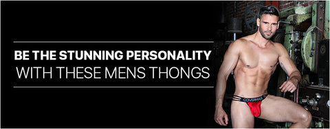 Be the stunning personality with these Mens Thongs