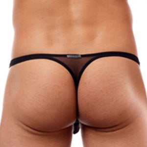 Cover Male CM111  Brazilian Skimpy Thong Sheer
