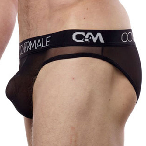 Cover Male CM115  Waisted Up Bikini Sheer