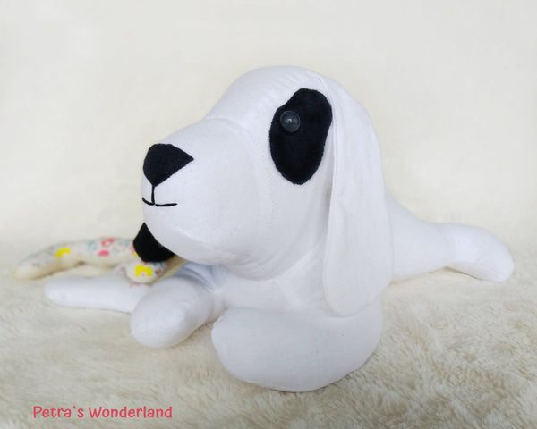 Lazy Dog - PDF doll sewing pattern and tutorial 05