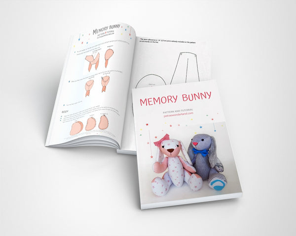 Memory Bunny - PDF doll sewing pattern and tutorial 09