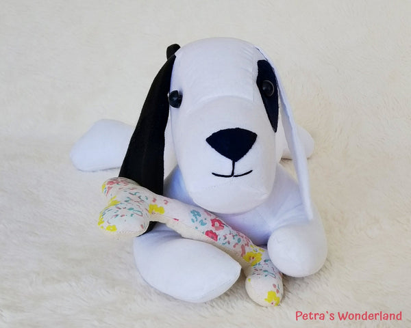 Lazy Dog - PDF doll sewing pattern and tutorial 02