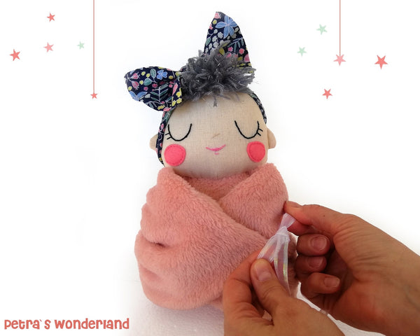 Baby Mia - PDF doll sewing pattern and tutorial 06