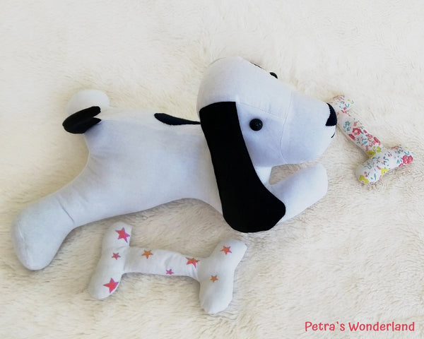 Lazy Dog - PDF doll sewing pattern and tutorial 07