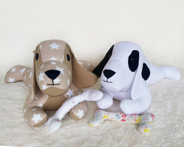 Lazy Dog - PDF doll sewing pattern and tutorial 11