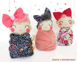 Baby Mia - PDF doll sewing pattern and tutorial 09