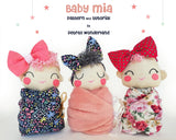 Baby Mia - PDF doll sewing pattern and tutorial