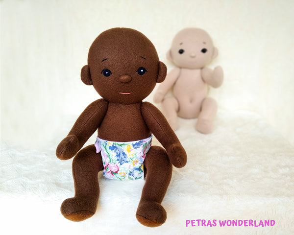 Baby Doll 18 inch - PDF doll sewing pattern and tutorial 02