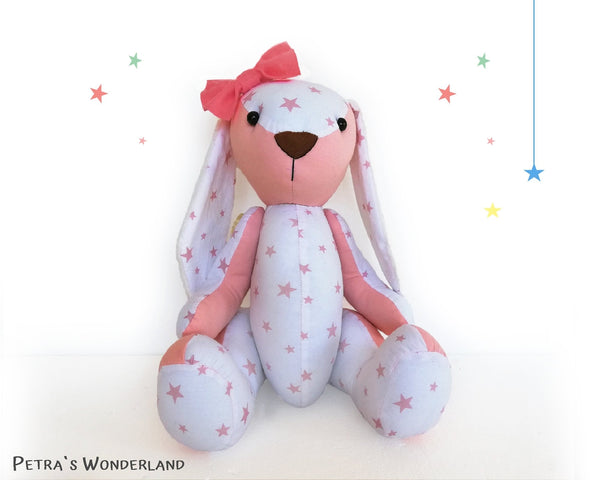 Memory Bunny - PDF doll sewing pattern and tutorial 05