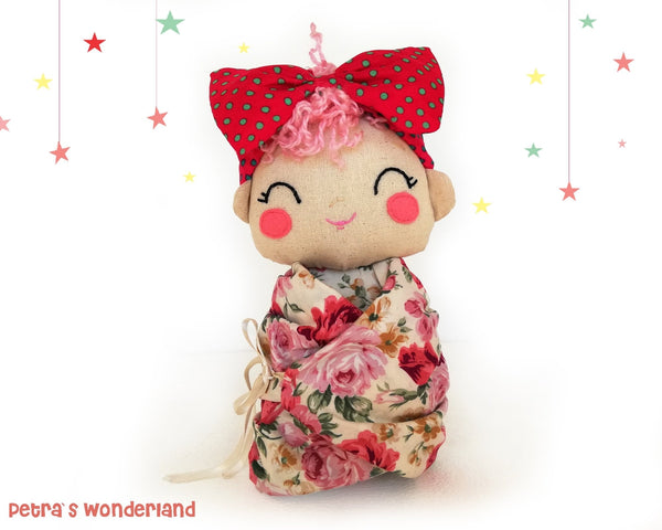 Baby Mia - PDF doll sewing pattern and tutorial 02