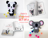 2 PDF Panda and Koala - PDF Sewing Patterns and Tutorials