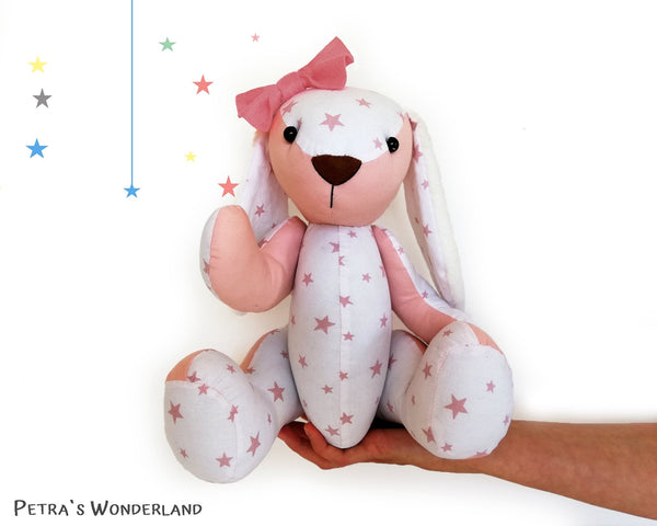 Memory Bunny - PDF doll sewing pattern and tutorial 02