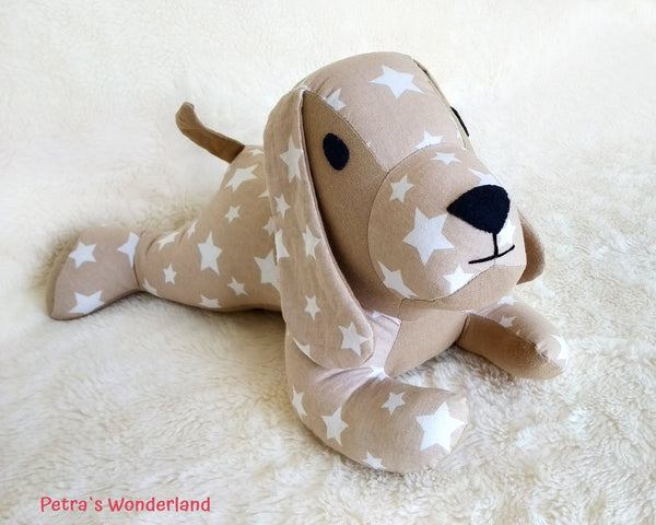 Lazy Dog - PDF doll sewing pattern and tutorial 04