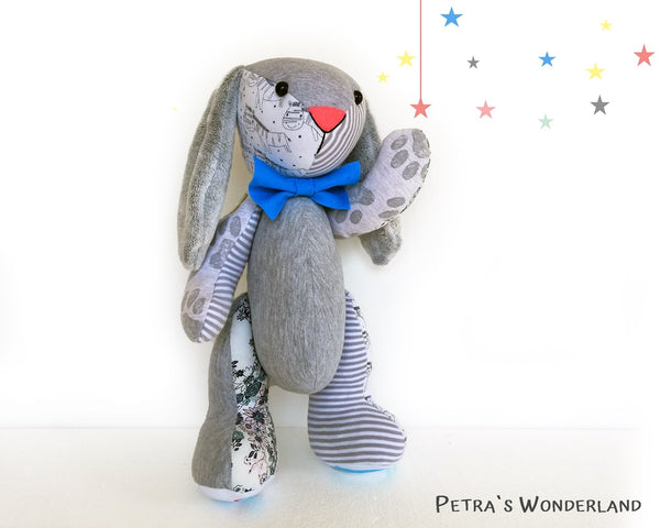 Memory Bunny - PDF doll sewing pattern and tutorial 07