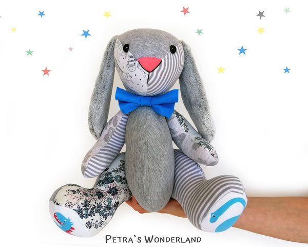 Memory Bunny - PDF doll sewing pattern and tutorial 03