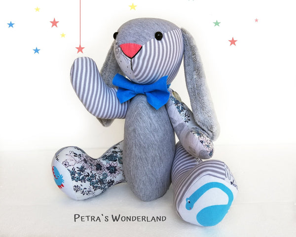 Memory Bunny - PDF doll sewing pattern and tutorial 06