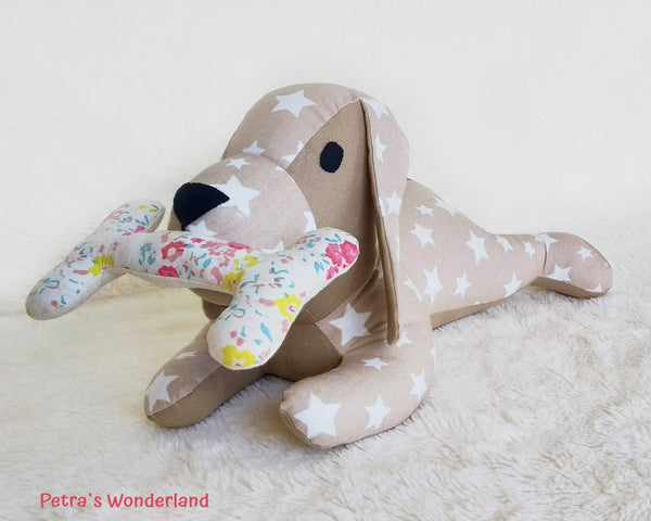 Lazy Dog - PDF doll sewing pattern and tutorial 06