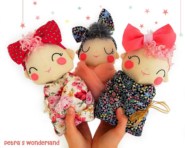Baby Mia - PDF doll sewing pattern and tutorial 04