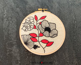 Flower Power - PDF embroidery pattern and tutorial 07