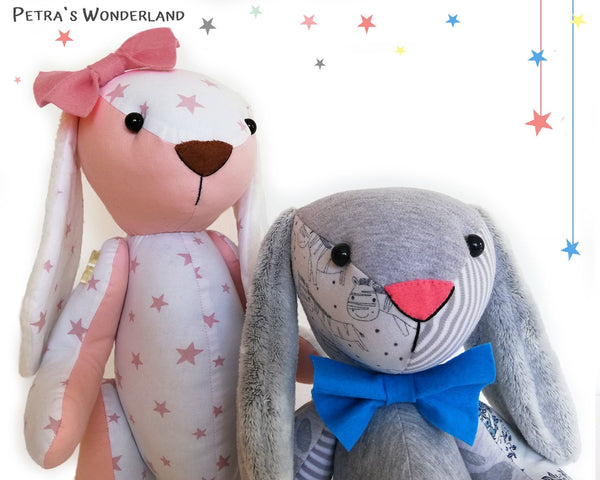 Memory Bunny - PDF doll sewing pattern and tutorial 10