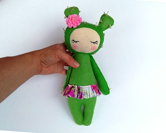 Miss Opuntia - PDF doll sewing pattern and tutorial 05