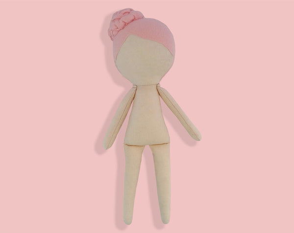 Doll Body 15 inch - PDF doll sewing pattern and tutorial 05