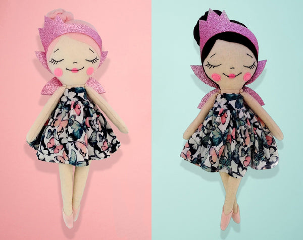 Doll Body 15 inch - PDF doll sewing pattern and tutorial 09