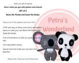 2 PDF Panda and Koala - PDF Sewing Patterns and Tutorials 08
