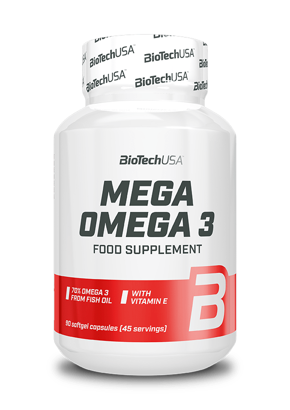 Biotech USA Mega Omega 90 softgels