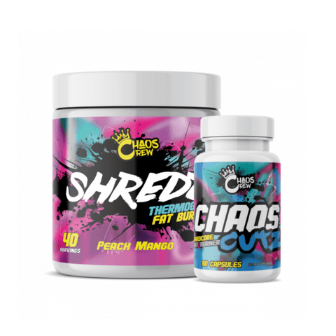 Chaos Crew - Shredz + Cuts Stack with Free Limited Edition Shaker