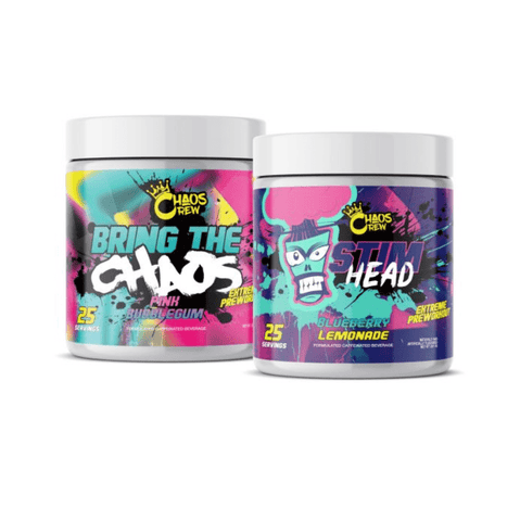 Chaos Crew - Bring The Chaos + Stim Head Stack with Free Limited Edition Shaker