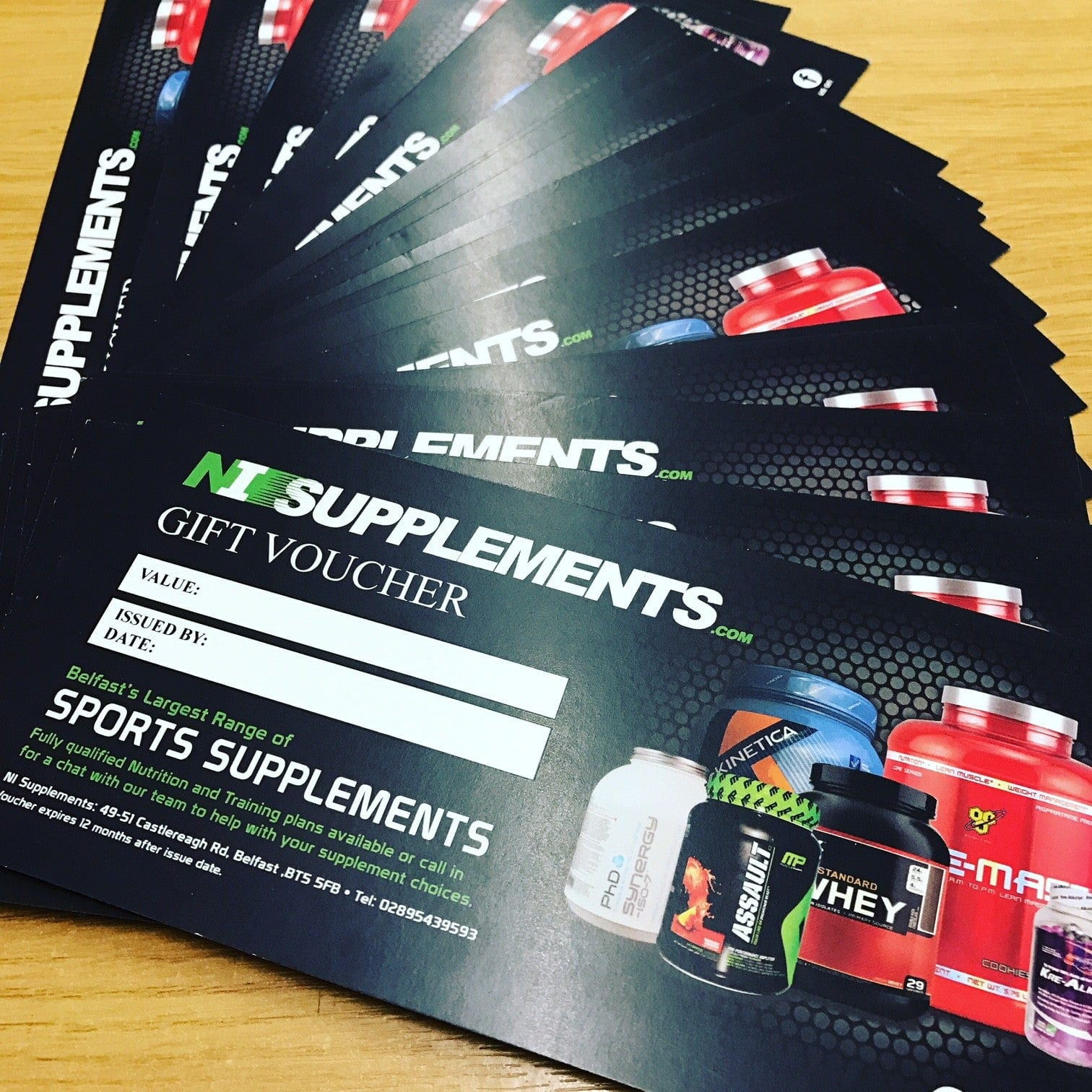 NI Supplements Gift Voucher £30