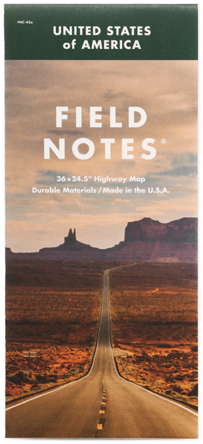 Field Notes - Map