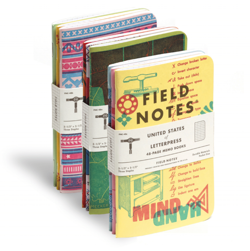 Field Notes - Letterpress of America